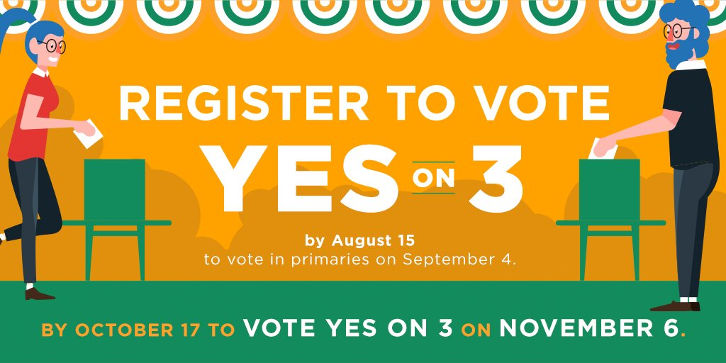 If you support dignity and respect for our #transgender neighbors in #Massachusetts, then we need you to VOTE! Make sure you're registered here and make your plan to vote #YesOn3 this November: https://t.co/2StP5c34po