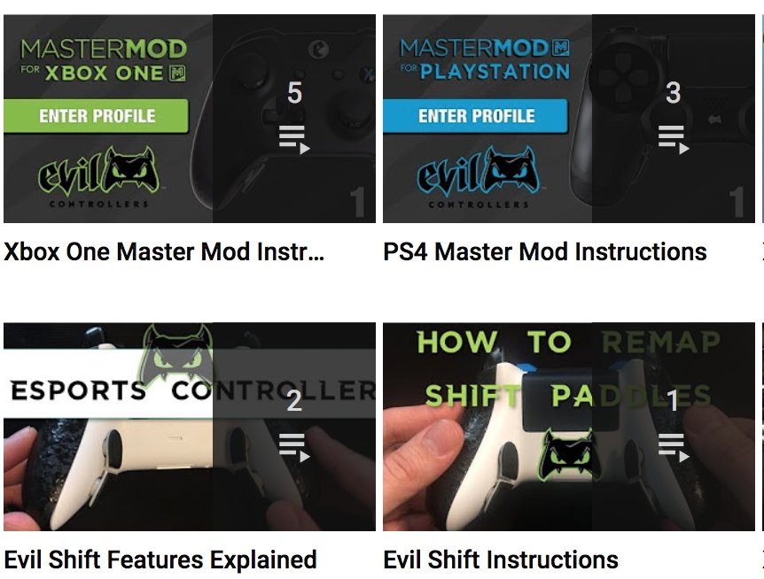 Evil Controllers On Twitter Check Out Our Youtube Channel For