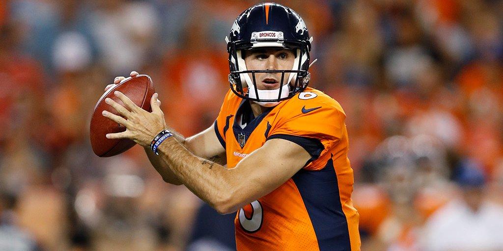 Chad Kelly Pes Paxton Lynch On Qb Depth Chart For Broncos