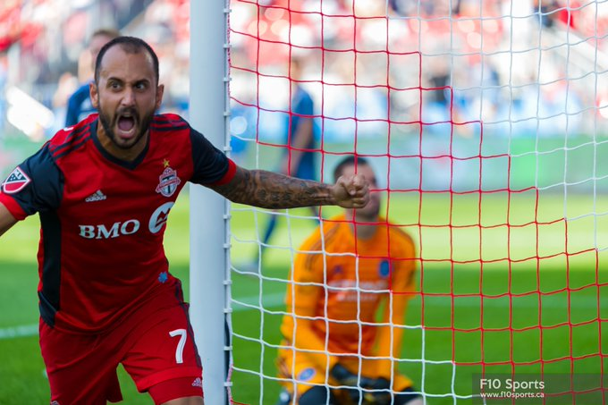 Victor Vazquez had a pretty darn good afternoon yesterday for Toronto FC #TFCLive #mls (Photo Credit : .@michaelfayehun ) Photo