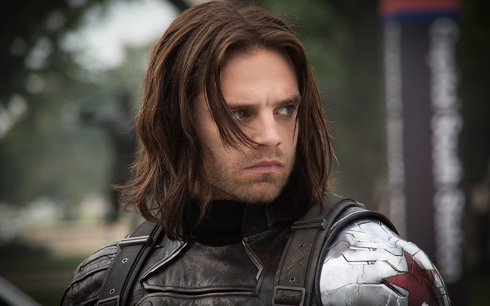Better Late than Never...  Happy Birthday to The Winter Soldier (Bucky) himself Sebastian Stan~