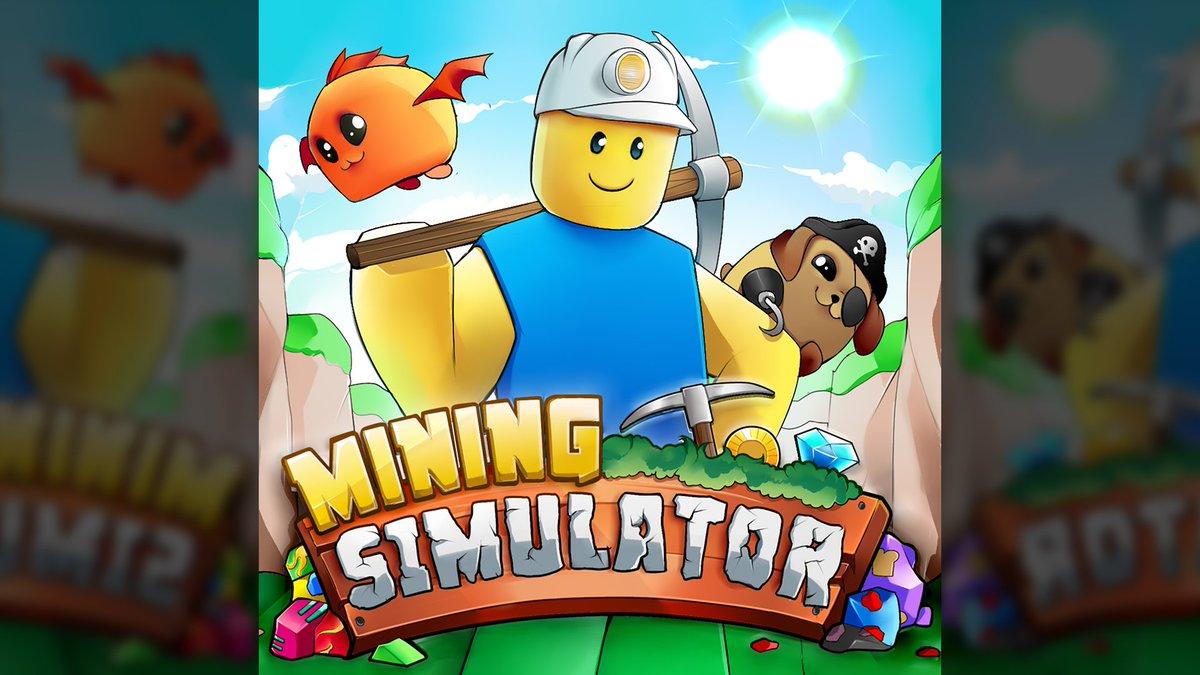 Bslick On Twitter Miners Roblox Miningsimulator Just Got A