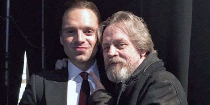 Mark Hamill Wishes His \Son\ Sebastian Stan a Happy Birthday