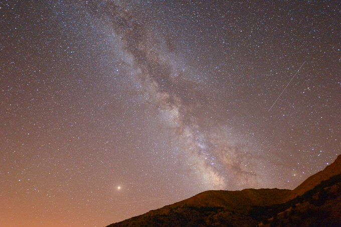 Así se vio la lluvia de meteoros de las Perseidas en Van, Turquía Foto