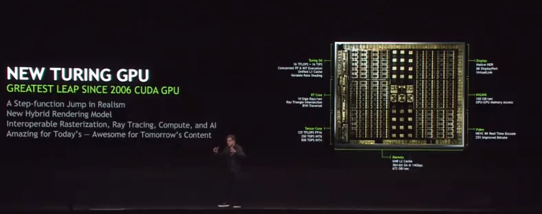 JHH announcing #Turing now at #SIGGRAPH2018 Watch LIVE: ustream.tv/NVIDIA
