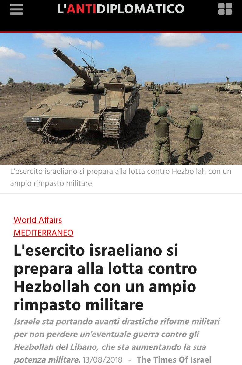 #Israel si prepara alla guerra contro#Hezbollah con un ampio rimpasto militare.#Israele sta portando avanti drastiche riforme militari per non perdere un\