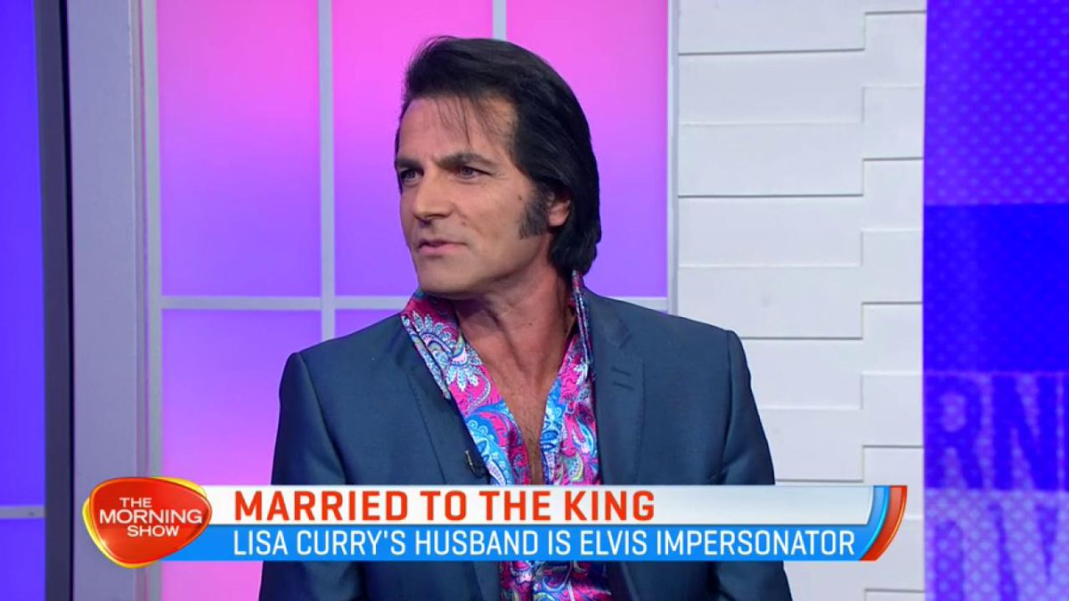 The Morning Show On Twitter Lisa Curry S Husband Mark Andrew Opens Up About His Alter Ego And Dedication To The King Elvis Presley Tms7