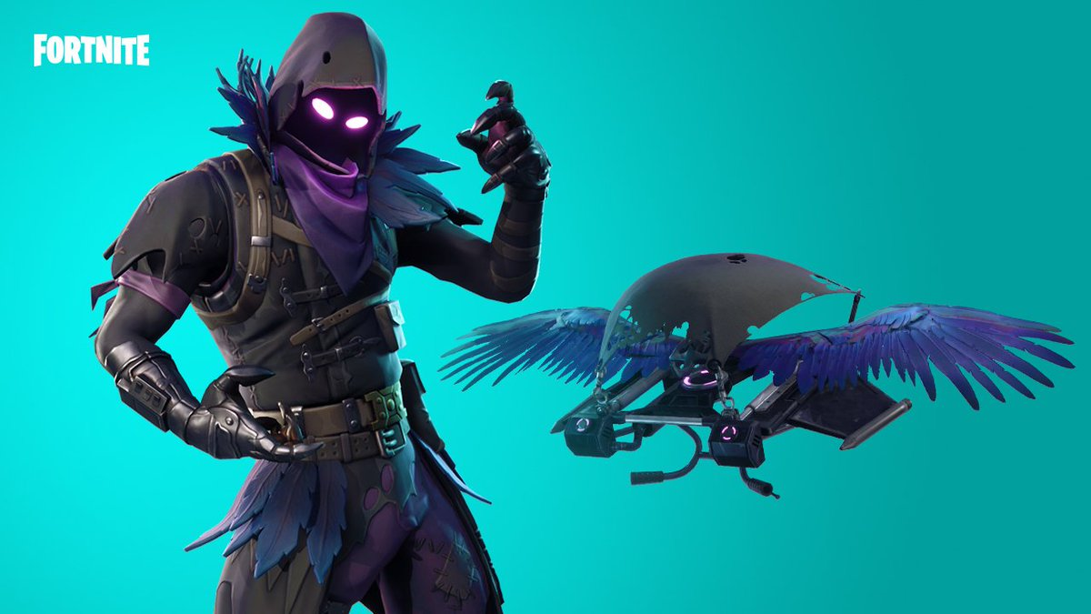 Take flight in the night with the Raven Outfit and Jailbird gear. Available now!