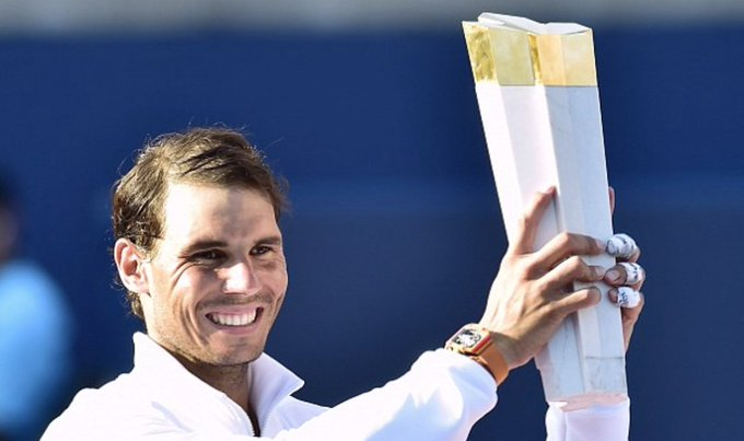 Rafael Nadal proves too strong for youngster Stefanos Tsitsipas as he breezes to fourth Rogers Cup title Photo