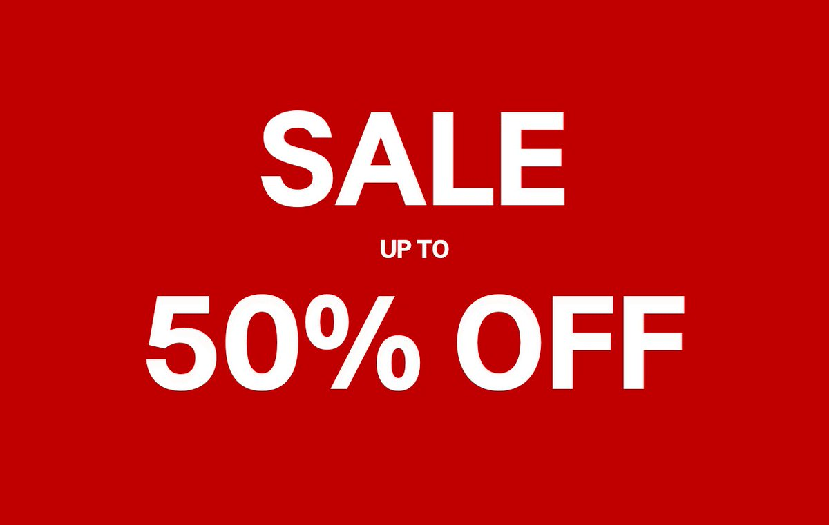 #HMSale going all out! Shop for items up to 50% OFF for Ladies, Men and Kids. Don't miss out!