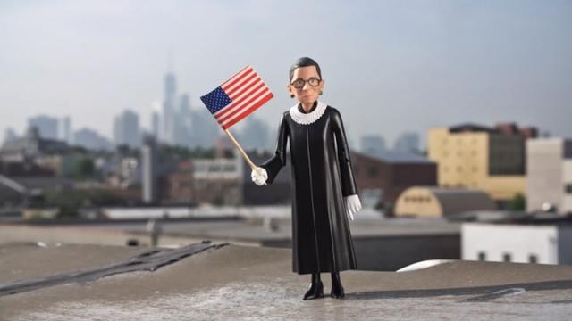 Ruth Bader Ginsburg action figures coming this fall  http:// hill.cm/K5Fu82o  &nbsp;  <br>http://pic.twitter.com/UZDbyNAvpL