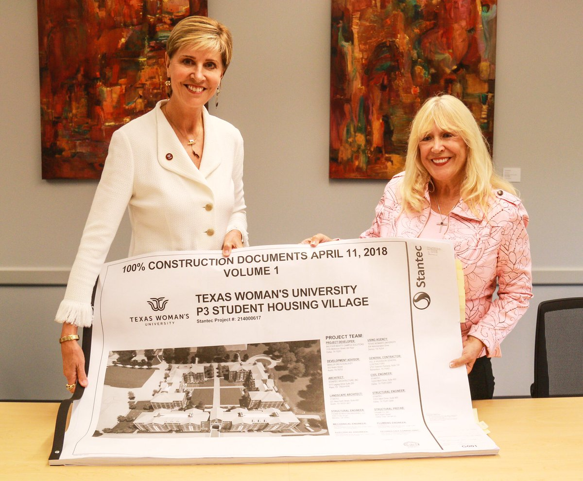 Grateful to Mary L.A.Stanton for her generous gift to @txwomans LARGEST single gift EVER in the history of the university!! Over $10M to support our new residence halls. #Mary'sHall #pioneerproud #RoleModel <br>http://pic.twitter.com/l8Yh4mZoaq