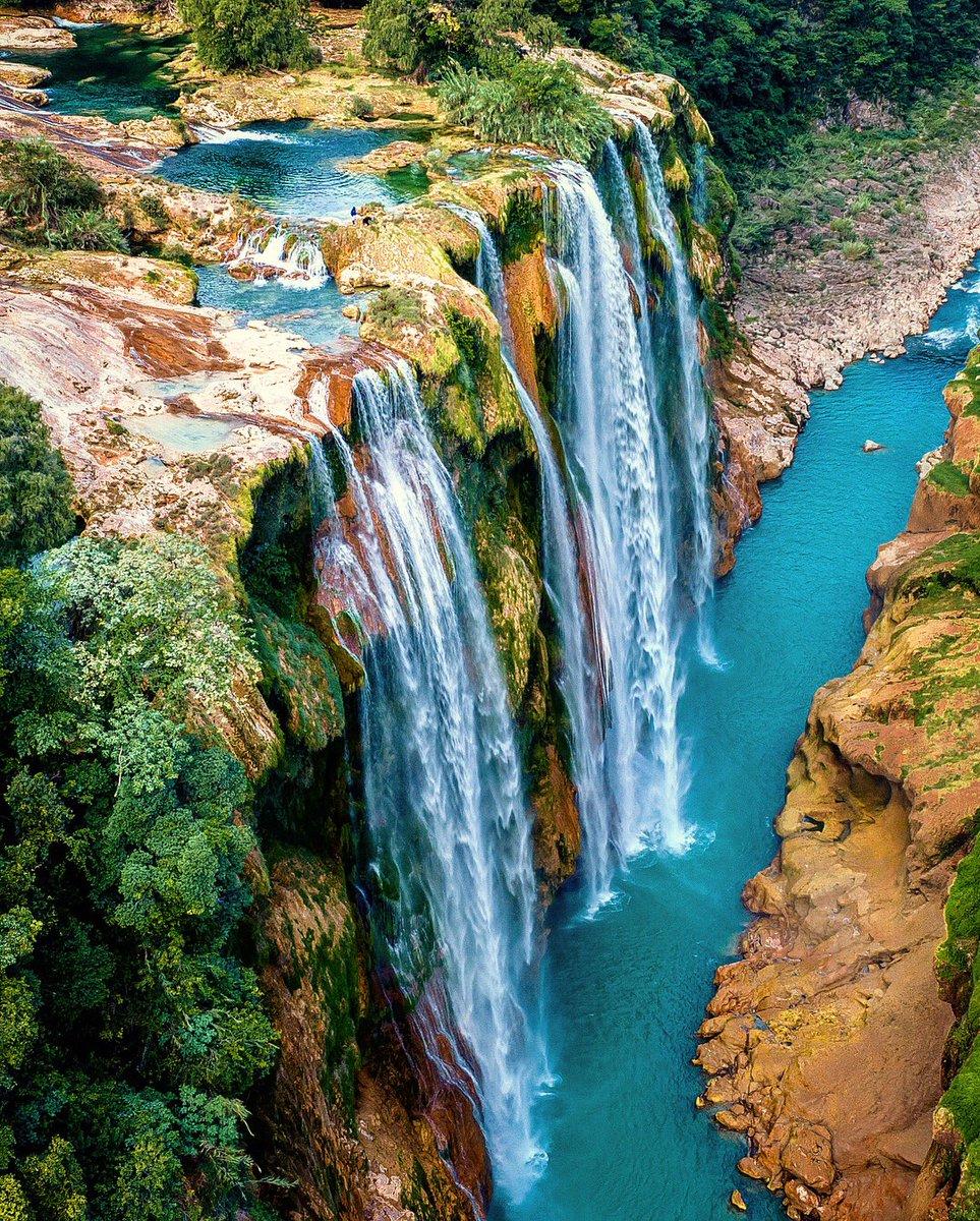 Cascada de Tamul, un tesoro de Aquismón.