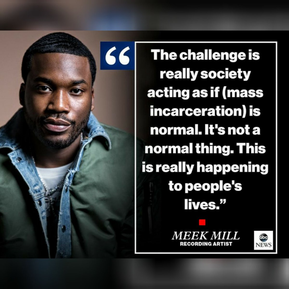 Afj On Twitter Monday Quote Hip Hop Artist Meekmill Hiphop Rap