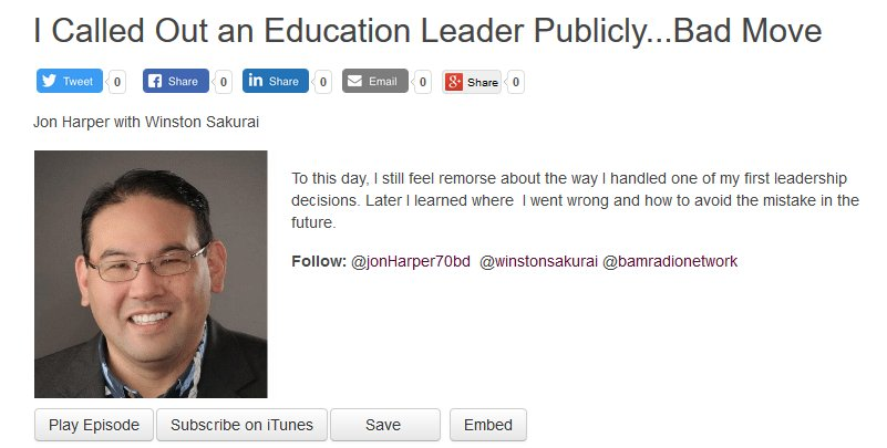 I Called Out an Education Leader Publicly...Bad Move bamradionetwork.com/my-bad/4619-i-… via @winstonsakurai