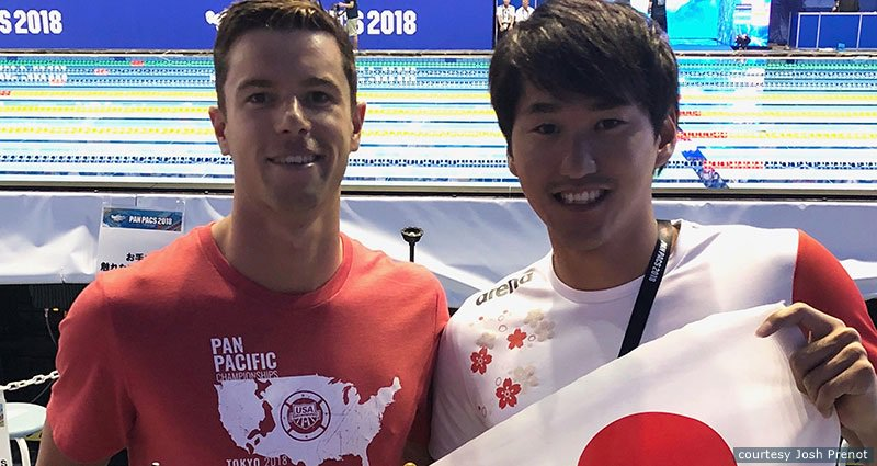 years out from #Tokyo2020, Olympic  medalist @JoshPrenot recaps @USASwimming&#39;s trip to the Olympic host city for #PanPacs2018.   :  http:// go.teamusa.org/2MMa7pd  &nbsp;  <br>http://pic.twitter.com/AcrWGC75nE