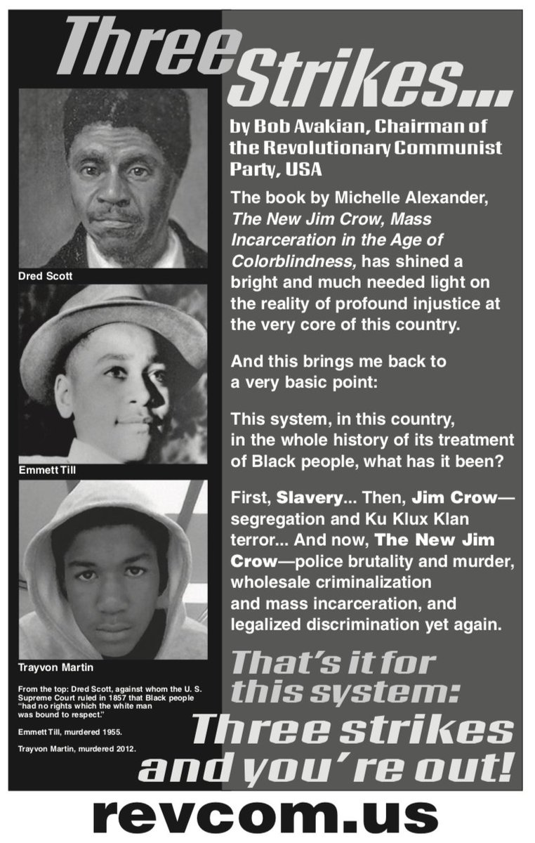 From Dred Scott to Emmett Till to Trayvon Martin... this system has NO FUTURE for the youth or for Black people... but the REVOLUTION DOES!  Get into Bob Avakian and the real revolution to put an END to this white supremacist system:  http://www. revcom.us  &nbsp;    #TrayvonMartinStory<br>http://pic.twitter.com/k78m135TZQ