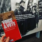 Image for the Tweet beginning: The 'Voice and Vote' exhibition