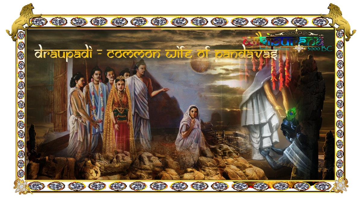 wife of Pandavas