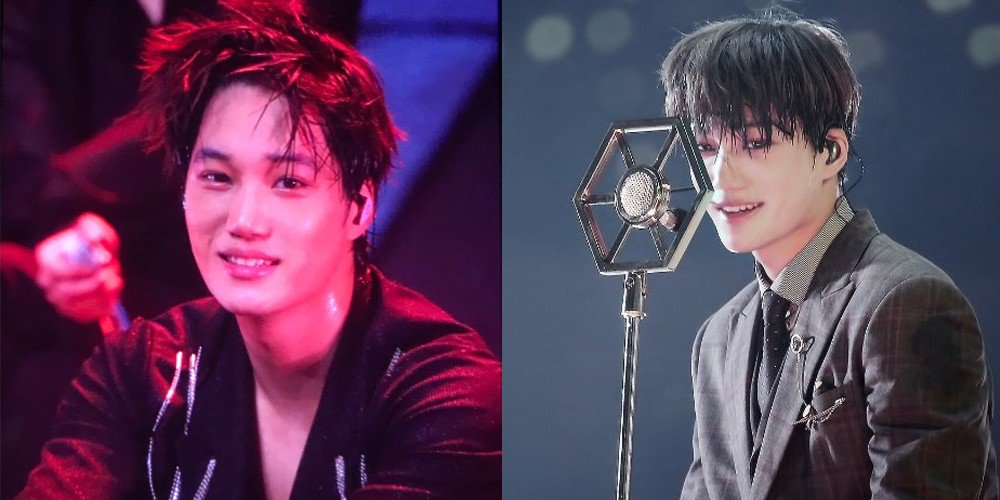 EXO Kai's mic goes flying, making netizens LOL and leaving Chanyeol at a loss for words https://t.co/mjs5xVib6S