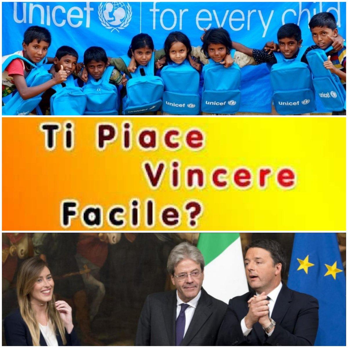 QUESTI NON FANNO SCONTI A NESSUNO...NEANCHE AI BAMBINI!#UNICEF #UnicefDENUNCIA #GovernoGentiloni #Orlando #Renzi #Boschi #Veltroni #Pd #pdnetwork #GovernoDelCambiamento  - Ukustom