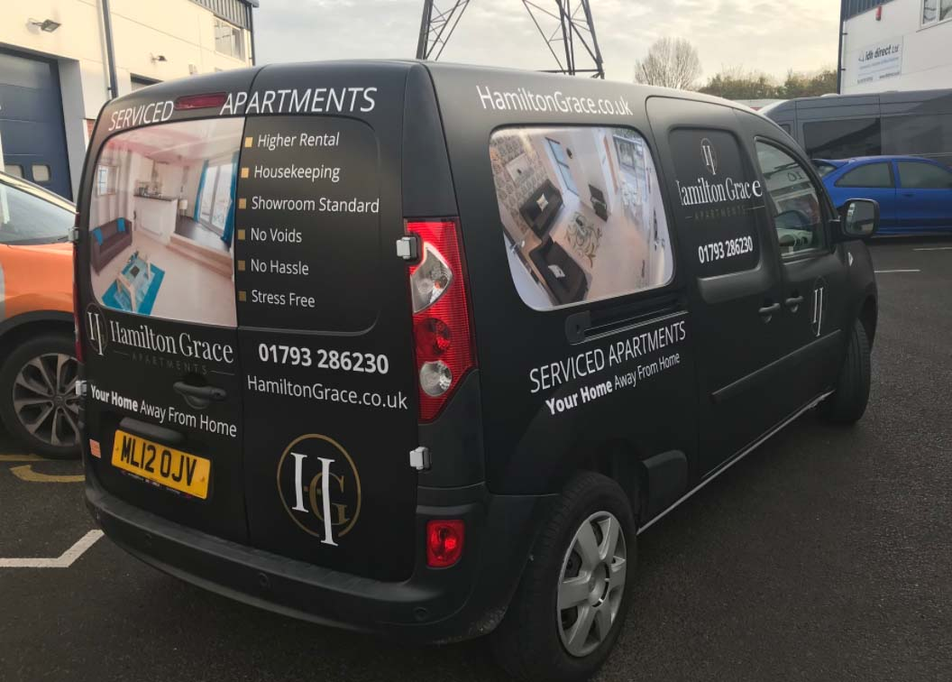 Have you seen our Hamilton Grace #servicedapartments van driving around recently? Give us a wave if you do!  http:// ow.ly/USD330kY8YZ  &nbsp;  <br>http://pic.twitter.com/FMzYMBiJUA