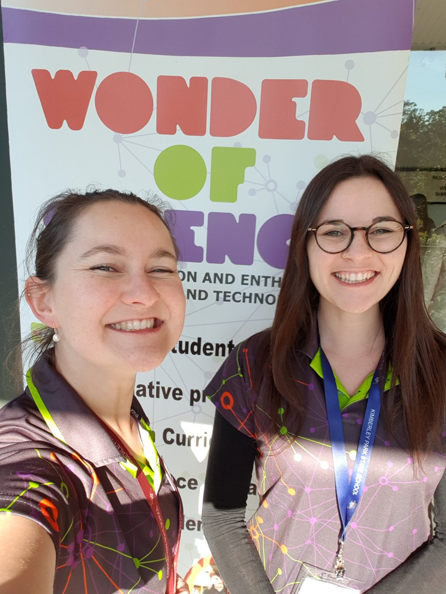 Team Bella and Bron back together for the @WOSQld Logan conference. Let the presentations begin! @isobellasjs #scicomm <br>http://pic.twitter.com/cykwUBQn6n