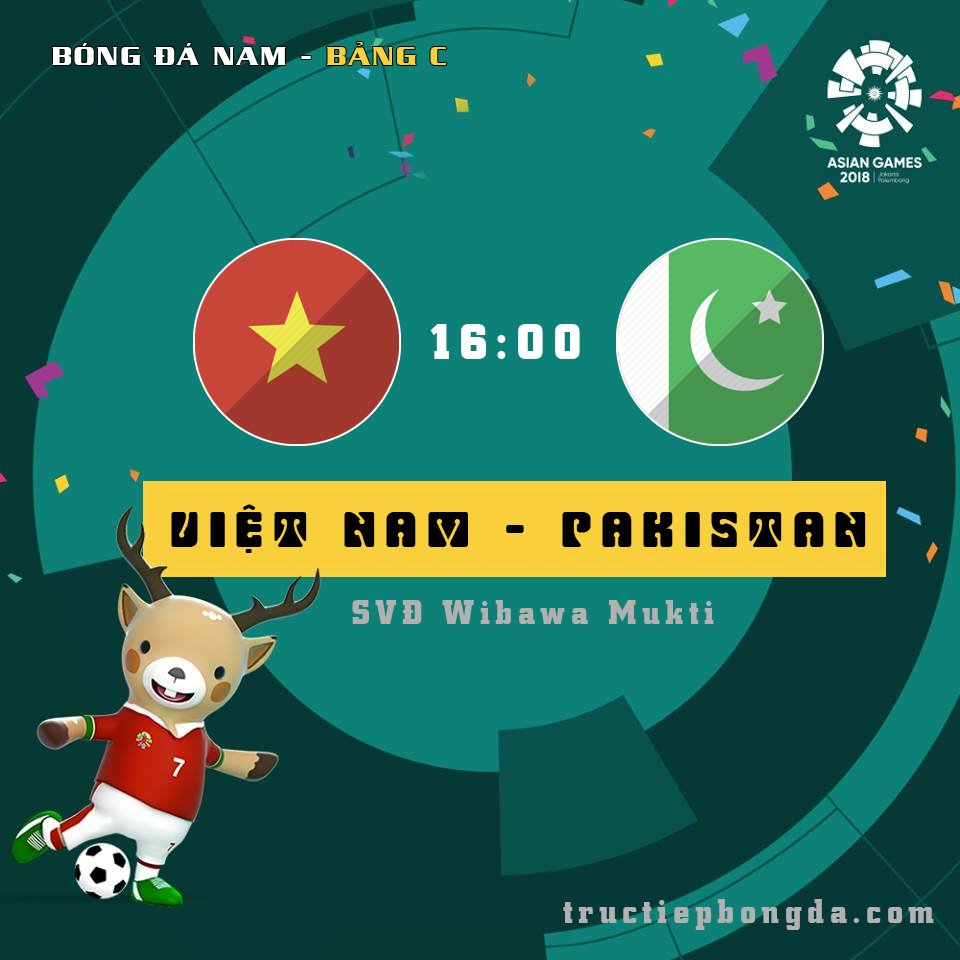 U23 Việt Nam vs U23 Pakistan