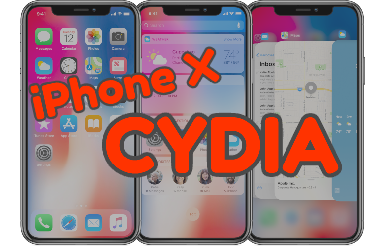 Customize your iPhone X device with CydiaPro  http:// iosjailbreak.org/customize-your -iphone-x-device-with-cydiapro/ &nbsp; … <br>http://pic.twitter.com/oJTPje8snl