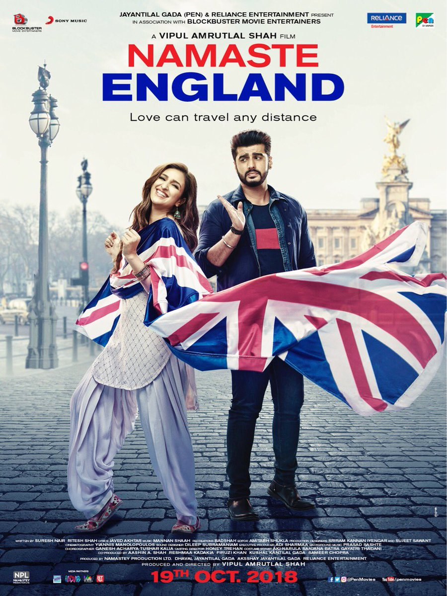 Parineeti Chopra's photo on #NamasteEnglandPoster