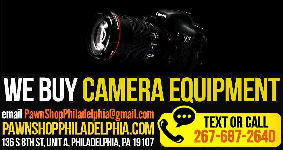 a4584e3f0 #pawnshop #Philadelphia #sellcamera #Camera #lenses https://bit.ly/2A9vijl  pic.twitter.com/HYT9NcAlii