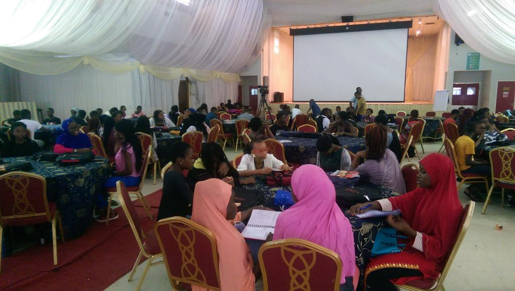 Glad for the opportunity to facilitate this year&#39;s adolescent program with @NgTribe Day1 was loaded with stimulating discussions on social etiquette &amp; career development. Day2 is going to be Watch online @  http://www. facebook.com/thetribengbny  &nbsp;    #DoSomethingBNY  #gesamthealthcare<br>http://pic.twitter.com/TZ6jNW9oCr