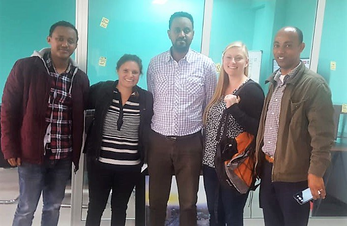 Our #UNARivers project team & #AddisAbaba #Resilience office meet to strengthen partnerships & plan city support going forward in #Ethiopia   Moreinfo on the project: https://t.co/WMaO6YM9bT