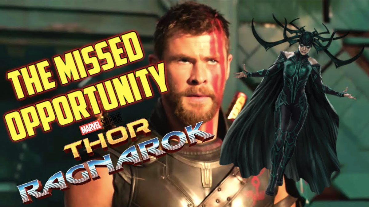 New video! I&#39;m starting a series called the second viewing where I review films based on my second viewing! I re watched #ThorRagnarok and I think there was a missed opportunity to make this film truly fantastic! Check out my video. Link below   https:// youtu.be/jLNmwCh7720  &nbsp;  <br>http://pic.twitter.com/olD9GMbQmF