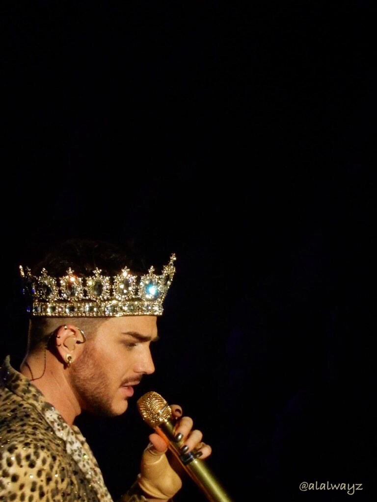 This makes my day @adamlambert with @QueenWillRock<br>http://pic.twitter.com/qtCLIB7POH