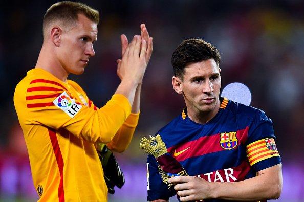 """Marc-Andre ter Stegen: """"Semua Pemain Harus Belajar Dari Lionel Messi"""" - Foto"""