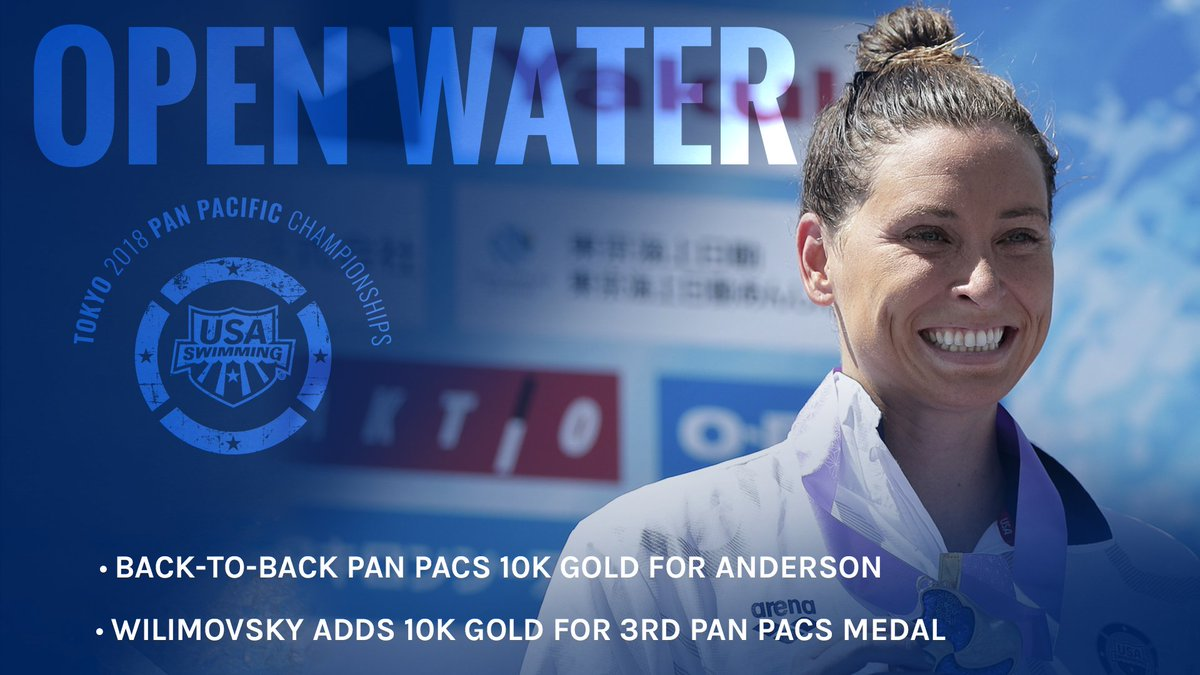 What a way to wrap #PanPacs2018 - 10K gold from @SwimHaley and @j_wilimovsky!  Recap:  http:// bit.ly/2w7BYcj  &nbsp;  <br>http://pic.twitter.com/IhvdfqlBZl