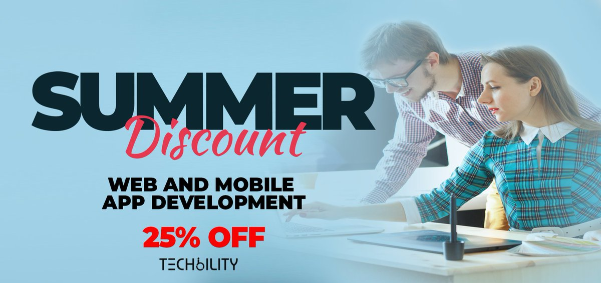 We are offering a flat discount of 25% for the month of August on ALL web and mobile app development services. Write to us at info@techbility.com for info. #A11y #Accessibility #Inclusion #Disability #WCAG #W3C #webdevelopment #iOSdev #androiddev #mobileapps<br>http://pic.twitter.com/2Nw1pNEr3j