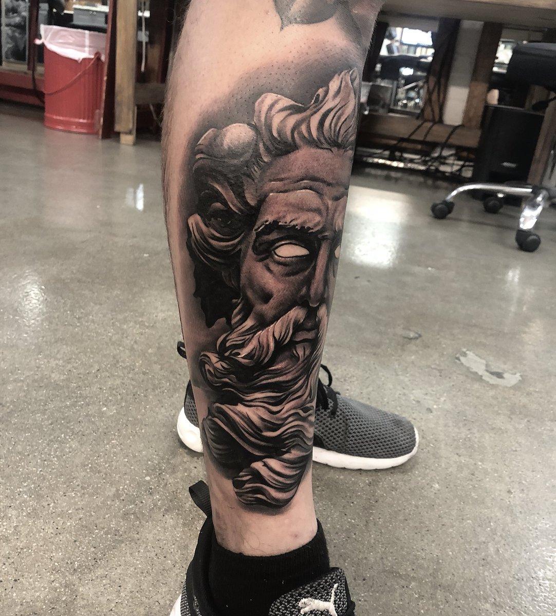 Poseidon Tattoo by me