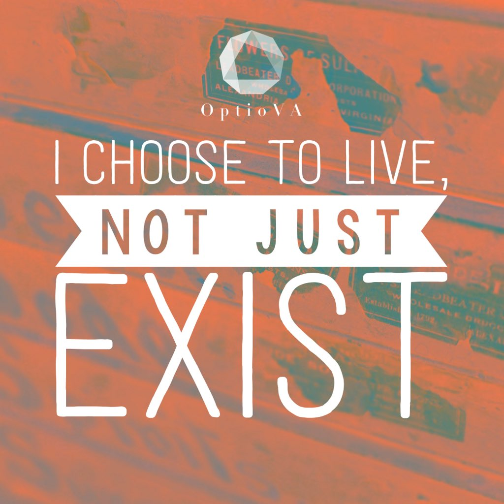 &#39;I choose to live, not just exist&#39;  Happy Choose-Day!  What do you 'choose' today?   Whatever you decide, have a great day!  #ChooseDay #TuesdayThoughts #TuesdayMotivation #quote #earlybiz #inspiration #ukbizhour #tweetmaster #freelancer #live #QueenOf<br>http://pic.twitter.com/81JQhIcRa1
