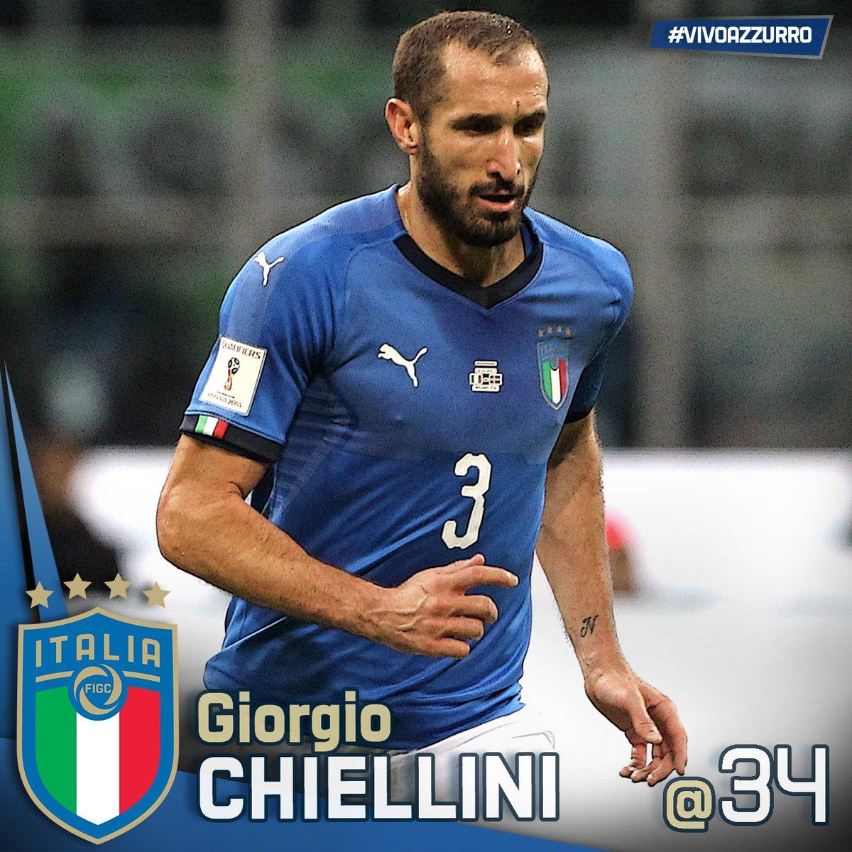 Buon compleanno a #GiorgioChiellini! 96 presenze in #Nazionale 8 #gol #Pisa, #14agosto 1984L\