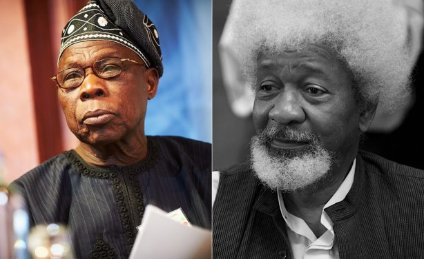 Cheap oil in Nigeria. One of world&#39;s great living writers and Nobel literature prize winner Nigerian Wole Soyinka (pic right) recalling how ex-Pres Obasanjo awarded valuable national oil concessions in exchange for sex.    https://www. vanguardngr.com/2018/08/obasan jo-awarded-oil-blocks-for-sex-wole-soyinka/ &nbsp; …  <br>http://pic.twitter.com/q8Fd0Ehddp