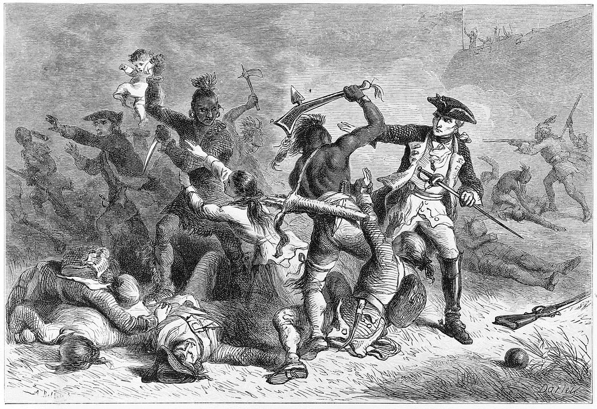 Image result for native americans killing colonists