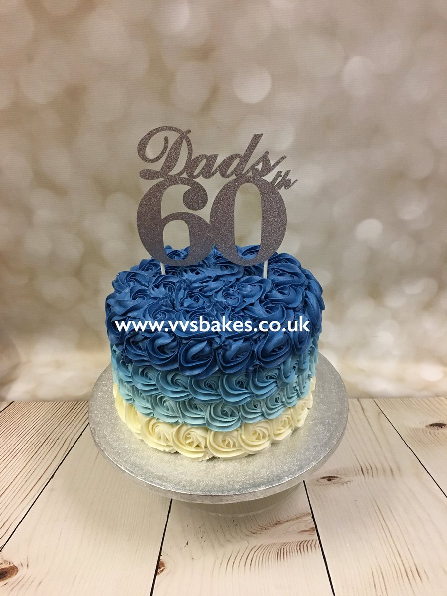 Vanessa Brewster On Twitter 60 Years Young Ombre Vvsbakes Cake