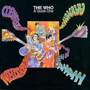 No.708 #The Who 2nd LP A Quick One, released late 1966, is a quaint pop LP with a hint of things to come. Includes some daft tracks such as Moon's Cobwebs and Strange and Entwistle's Boris the Spider. Completely forgot there was a cover of Heatwave on the album! Fun stuff. <br>http://pic.twitter.com/xWccLYZCXd