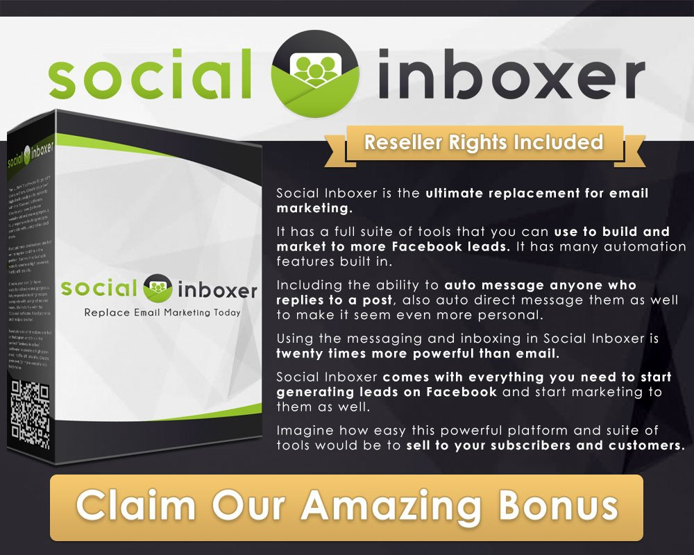 Grow your lists with social inboxer for succesful email marketing. Claim this as a bonus today, with resell rights included, along with your own autoresponder. #EmailMarketing #business  https:// maxprofitreviews.com/bonus/mymailit -a-new-kind-of-autoresponder-bonus/ &nbsp; …  <br>http://pic.twitter.com/ppUNWadDj4<br>http://pic.twitter.com/XbAp6YRwe3