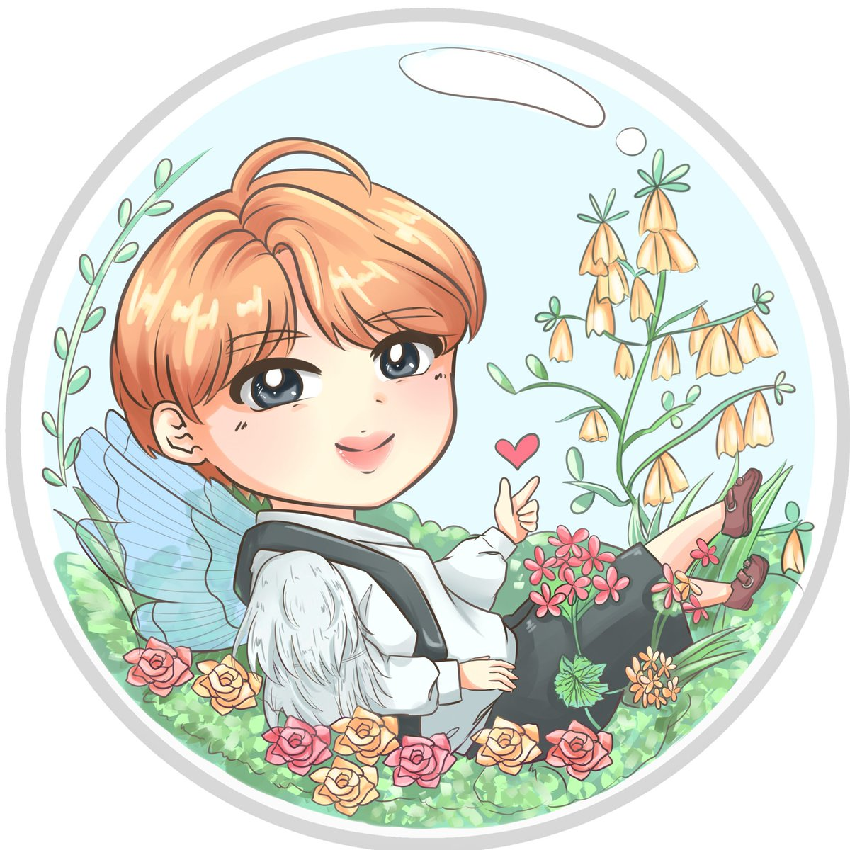 Fairy Jin :) First of 7 Fairy connecting charms I&#39;ll be working on! These will come in glitter, translucent epoxy   Pray 4 me   STREAM EPIPHANY  https:// youtu.be/fIkZOLsnoqY  &nbsp;    #JINTRO #seokjin #진 #LOVE_YOURSELF_結_Answer #LOVE_YOURSELF #btsartmy #btsfanart #rj #bt21 @BTS_twt <br>http://pic.twitter.com/l0GAAAg6vc
