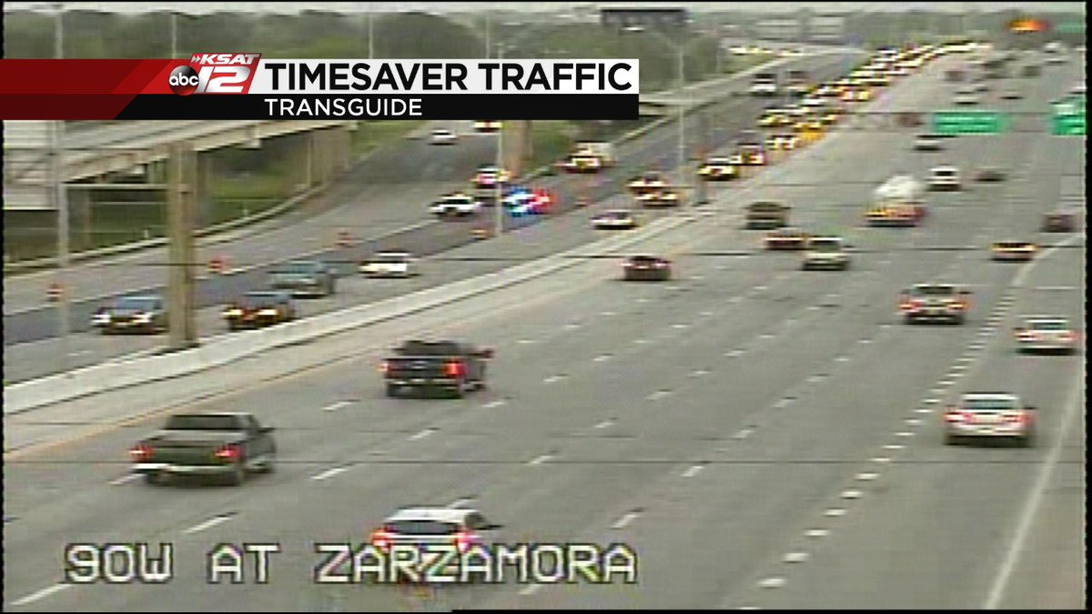 Ksat 12 On Twitter Traffic Alert Update A Second Lane Has Been Opened Eb Hwy 90 At Zarzamora Traffic Still Backed Up Beyond Hwy 151