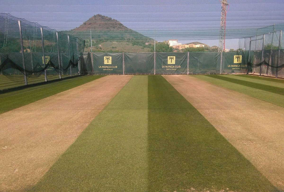 Is your school 1st team or academy / club Under 18 side looking for a February Half Term cricket tour with grass net training, fixtures on grass wickets, high class gym access, here in Spain at our great venue @LaMangaClub please message me or email lamangacricket@hotmail.co.uk