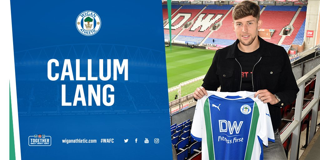 ✍️ NEW CONTRACT: @callumlang10 has signed a new two-year deal with Latics.   Lang, 19, will now join @OfficialOAFC on loan until January. More 👇  https://t.co/Zfz7PFgvUI  #wafc 🔵⚪️💚
